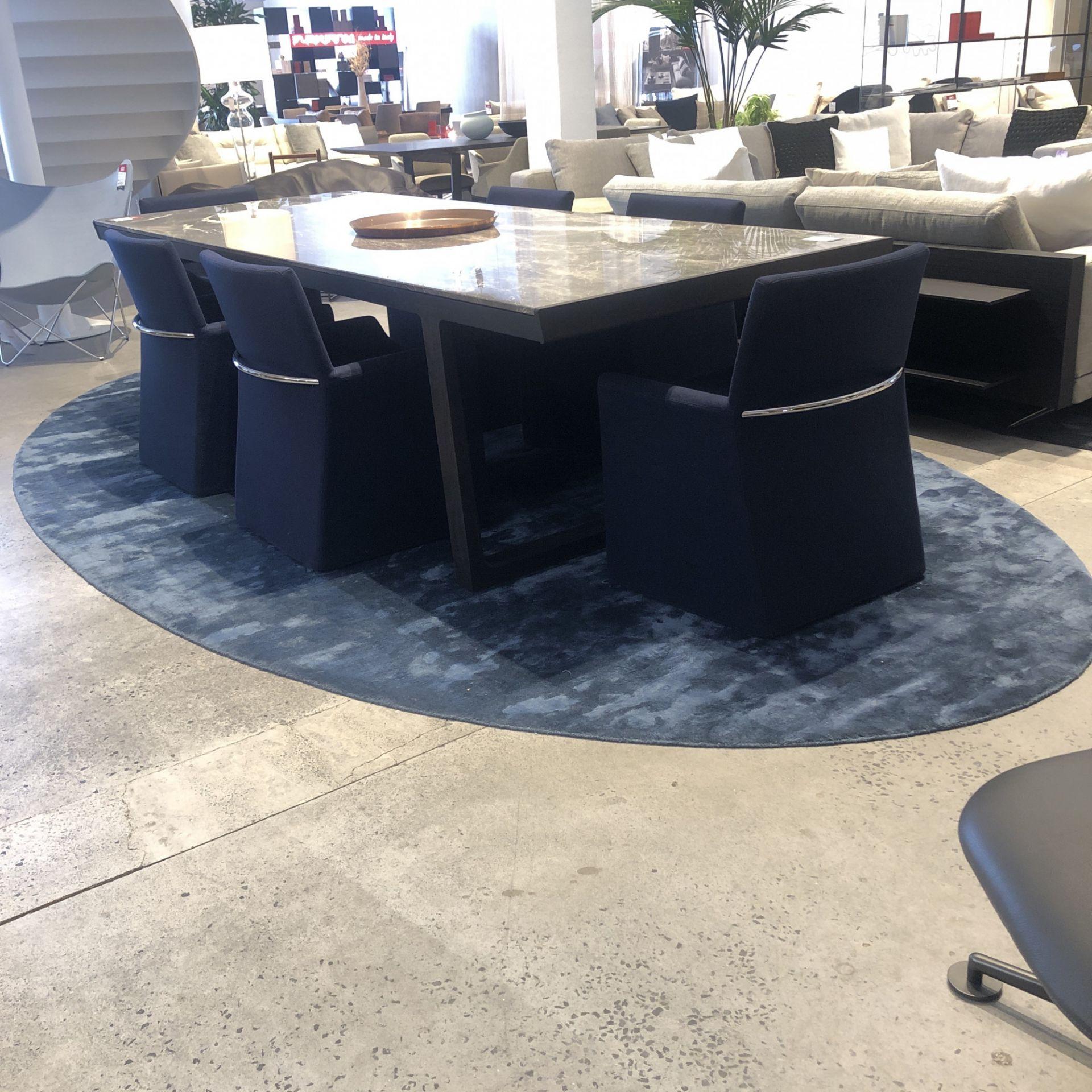 Oval Rug Blue Sale 19 Studio Italia