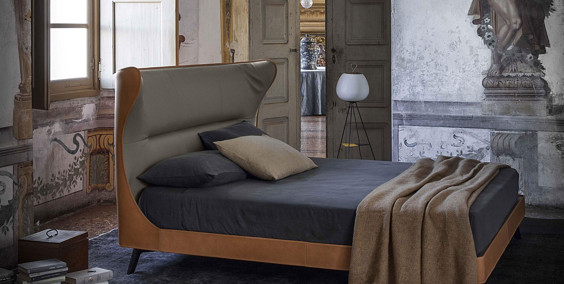 Poltrona Frau Mamy Blue Bed.Mamy Blue Bed Studio Italia