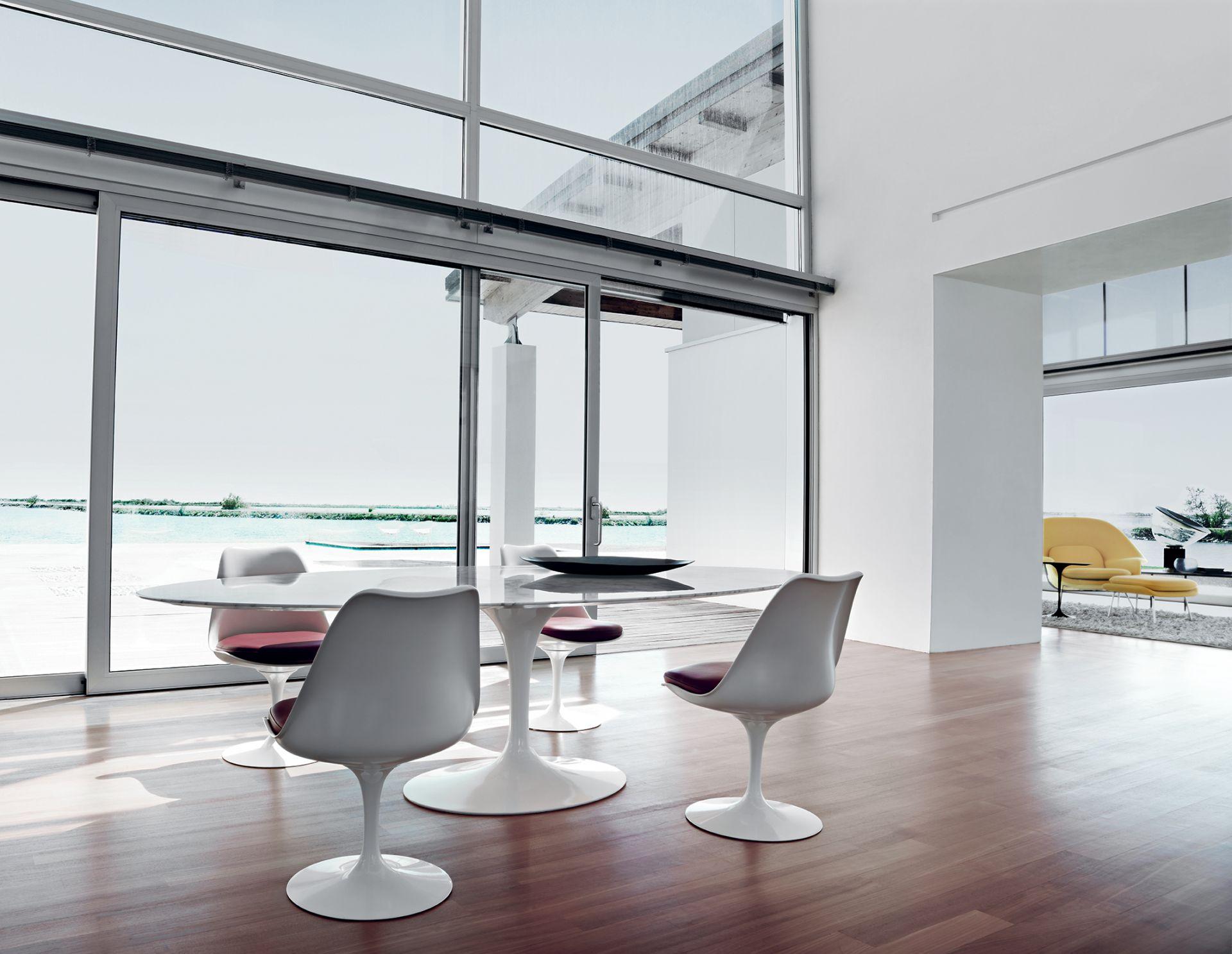saarinen tulip chair studio italia