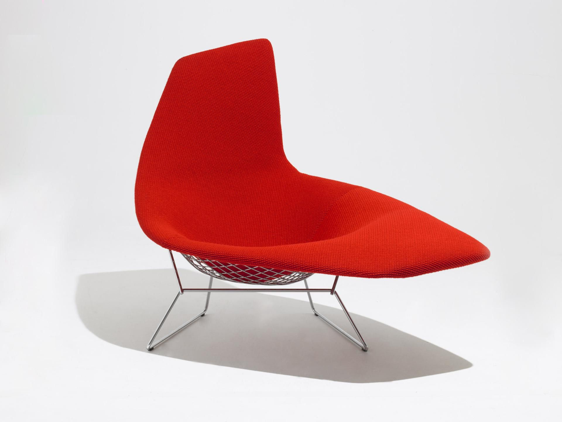 Bertoia Asymmetric Chaise Studio Italia