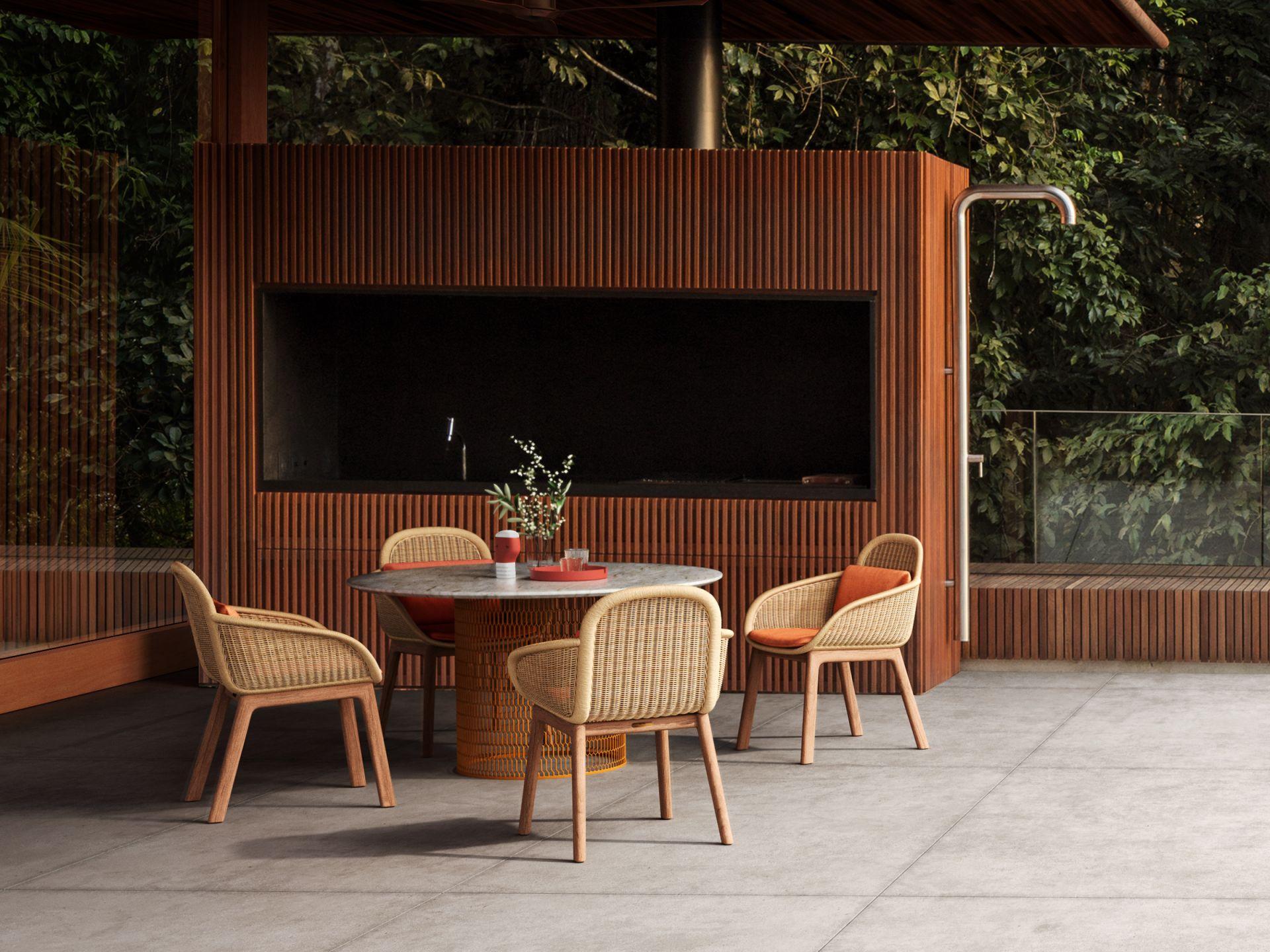 Vimini Dining Chair Studio Italia